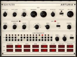 Arturia 3 Filters : Filter SEM Filter