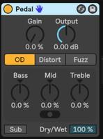 Ableton Live 10 Suite : pedal