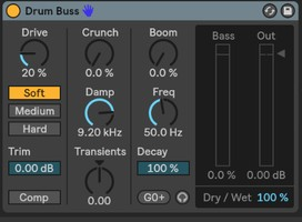 Ableton Live 10 Suite : drum bus