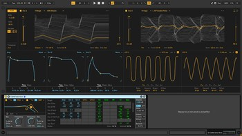 Ableton Live 10 Suite : interface wavetable