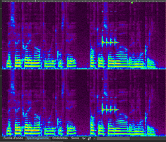 Steinberg WaveLab Pro 9.5 : spectrogramme