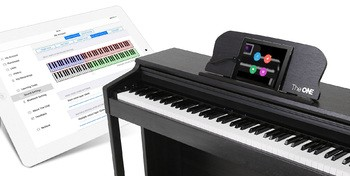 The One Music Group The ONE Smart Piano : Piano and APp