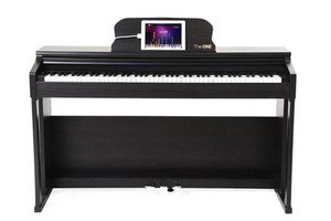 The One Music Group The ONE Smart Piano : Smart Piano Black