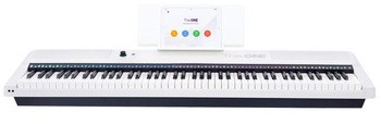 The One Music Group The ONE Keyboard Pro : Smart Keyboard whire