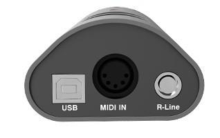 Melo Audio Tone Shifter Mini : Tone Shifter Mini MIDI