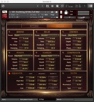 CH EnsString All Mix DSP FX GUI