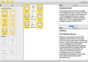 midihub editor mac