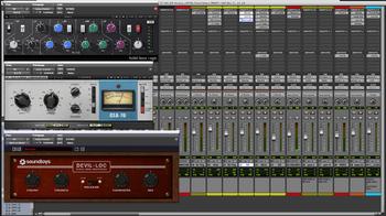 Prise de Son & Mixage : 13 snare 1 plugins