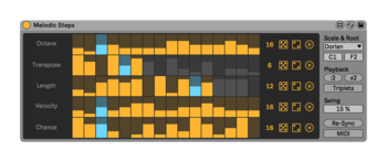 4 Melodic Steps