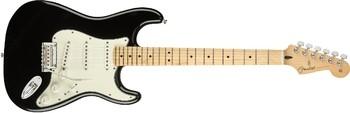 Fender Player Stratocaster : Player Stratocaster, Maple Finger Board, Black