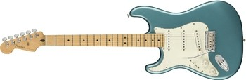 Fender Player Stratocaster LH : Player Stratocaster Left Handed, Maple Fingerboard, Tidepool