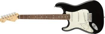 Fender Player Stratocaster LH : Player Stratocaster Left Handed, Pau Ferro Fingerboard, Black