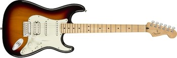 Fender Player Stratocaster HSS : Player Stratocaster HSS, Maple Fingerboard, 3 Color Sunburst