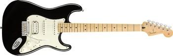Fender Player Stratocaster HSS : Player Stratocaster HSS, Maple Fingerboard, Black
