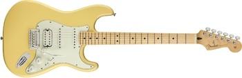 Fender Player Stratocaster HSS : Player Stratocaster HSS, Maple Fingerboard, Buttercream