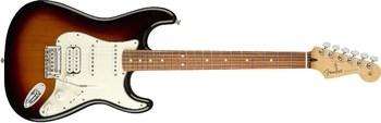 Fender Player Stratocaster HSS : Player Stratocaster HSS, Pau Ferro Fingerboard, 3 Color Sunburst