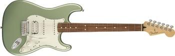 Fender Player Stratocaster HSS : Player Stratocaster HSS, Pau Ferro Fingerboard, Sage Green Metallic