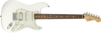Fender Player Stratocaster HSS : Player Stratocaster HSS, Pau Ferro Fingerboard,Polar White