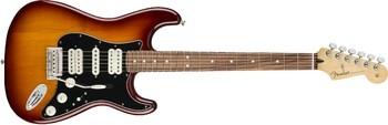 Fender Player Stratocaster HSH : Player Stratocaster HSH, Pau Ferro Fingerboard, Tobacco Sunburst