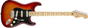 Fender Player Stratocaster Plus Top : Player Stratocaster Plus Top, Maple Fingerboard, Aged Cherry Burst