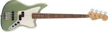 Fender Player Jaguar Bass : Player Jaguar Bass, Pau Ferro Fingerboard, Sage Green Metallic