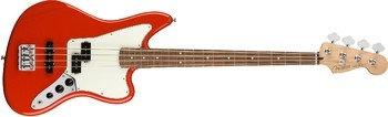 Fender Player Jaguar Bass : Player Jaguar Bass, Pau Ferro Fingerboard, Sonic Red