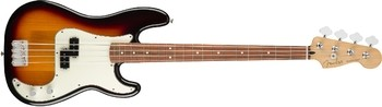 Fender Player Precision Bass : Player Precision Bass Pau Ferro Fingerboard, 3 Color Sunburst,