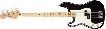 Fender Player Precision Bass LH : Player Precision Bass Left Handed, Maple Fingerboard, Black