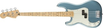 Fender Player Precision Bass LH : Player Precision Bass Left Handed, Maple Fingerboard, Tidepool