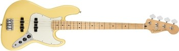 Fender Player Jazz Bass : Player Jazz Bass, Maple Fingerboard, Buttercream