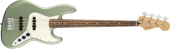 Fender Player Jazz Bass : Player Jazz Bass, Pau Ferro Fingerboard, Sage Green Metallic