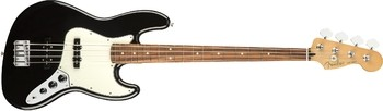 Fender Player Jazz Bass : Player Jazz Bass, Pau Ferro, Fingerboard, Black