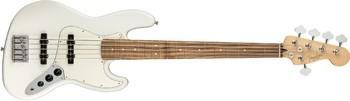 Fender Player Jazz Bass V : Player Jazz Bass V, Pau Ferro Fingerboard, Polar White
