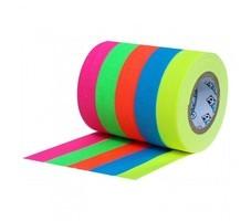 mini gaffer fluo tissu lot de 5 couleurs 12 12mm x 55m