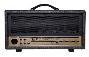 Supro 1695RTH Black Magick Reverb Head : Black Magick  back trans 1696RTH web 1024x651