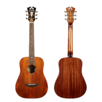 D'angelico Premier Utica Mahogany Top Arched Back : DAPTRVMAHARC FR