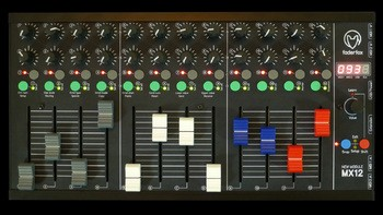 Faderfox MX12 : MX12 top color fader