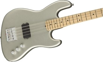 Flea Active Jazz Bass Center Body   Satin Inca Silver