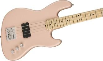 Flea Active Jazz Bass Center Body   Satin Shell Pink