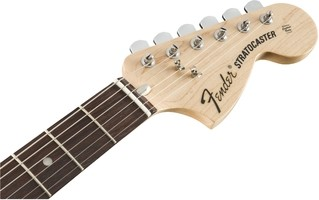 Albert Hammond Jr Signature Stratocaster Headstock Front   Olympic White