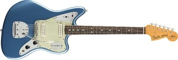 Johnny Marr Jaguar Front   Lake Placid Blue