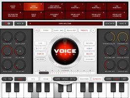 Voice Synth iPad Mac