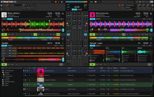 Native Instruments Traktor Kontrol S4 mk3 : TRAKTOR PRO 3 screenshot