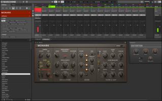 Native Instruments Maschine Mikro mk3 : MASCHINE Screenshot PLUG IN