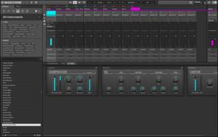 Native Instruments Maschine Mikro mk3 : MASCHINE Screenshot MIXER