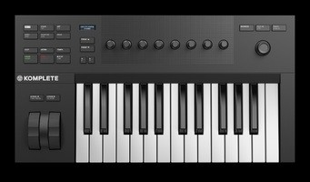 Native Instruments Komplete Kontrol A25 : KOMPLETE KONTROL A25 topview