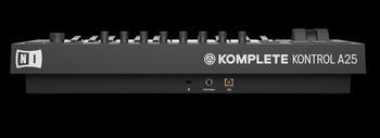 Native Instruments Komplete Kontrol A25 : KOMPLETE KONTROL A25 backview