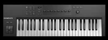 Native Instruments Komplete Kontrol A49 : KOMPLETE KONTROL A49 topview
