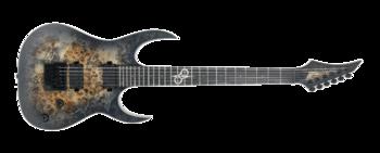 Solar Guitars S1.6ET LTD Poplar Burl : S1.6-ETPBM-Front-H