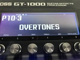 Boss GT-1000 : BOSS GT-1000 - 8